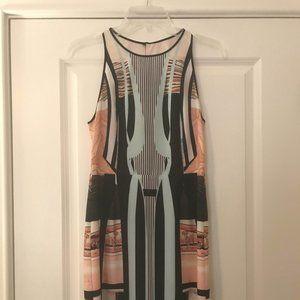 Clover Canyon Silk Print Dress